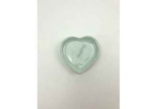 RompoTodo Rompotodo - Santan's Heart Plate - Mint