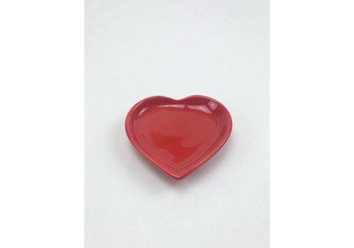 RompoTodo Rompotodo - Santan's Heart Plate - Red