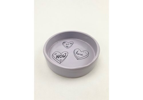 RompoTodo Rompotodo - Yin and Yang  Trinket Dish - Present- Lavender