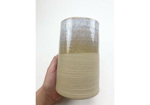 Maya Kitti Maya Kitti - Beige Vase Large  - 1