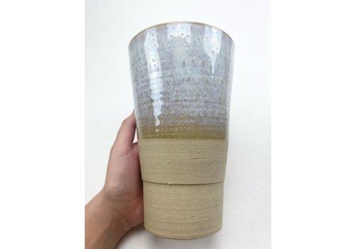 Maya Kitti Maya Kitti - Beige Vase Large  - 2