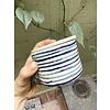 Blau Cobalt Blau Cobalt - Sugar pot - Blue & White