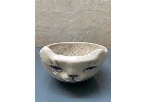 Agua de Fuego Agua de Fuego - Cat Bowl - White