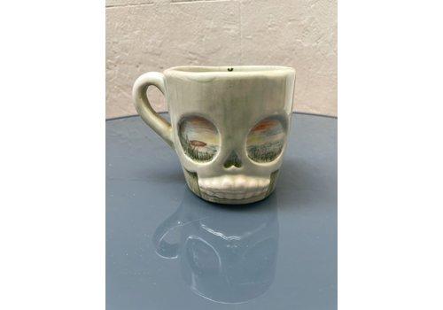 Agua de Fuego Agua de Fuego - Skull Mug - Sunset