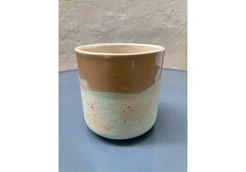 Maria Maceira Tajes M.A.E.V.O - Large cup - Brown/ Mint/ Mottled