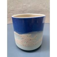 M.A.E.V.O - Large cup- Blue/Mint/Mottled