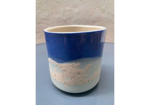 Maria Maceira Tajes M.A.E.V.O - Large cup- Blue/Mint/Mottled