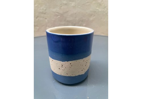 Maria Maceira Tajes M.A.E.V.O - Small cup - Blue/Mottled