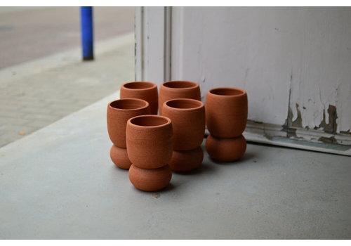 Palmira Ceramica Palmira Cerámica - Macetero  Granada - dos partes