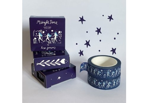 Lisa Junius Lisa Junius - Midnight Dance - Washi tape