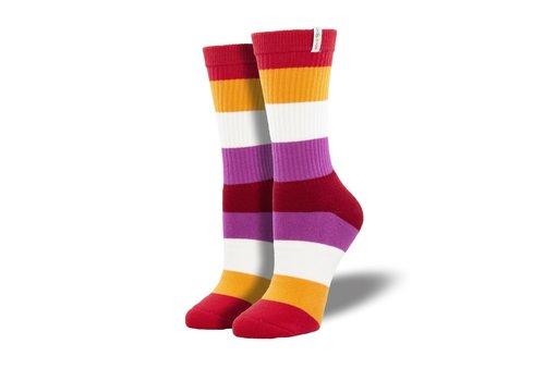 Socksmith Socksmith - Lesbian Pride  - NOBS S/M Socks