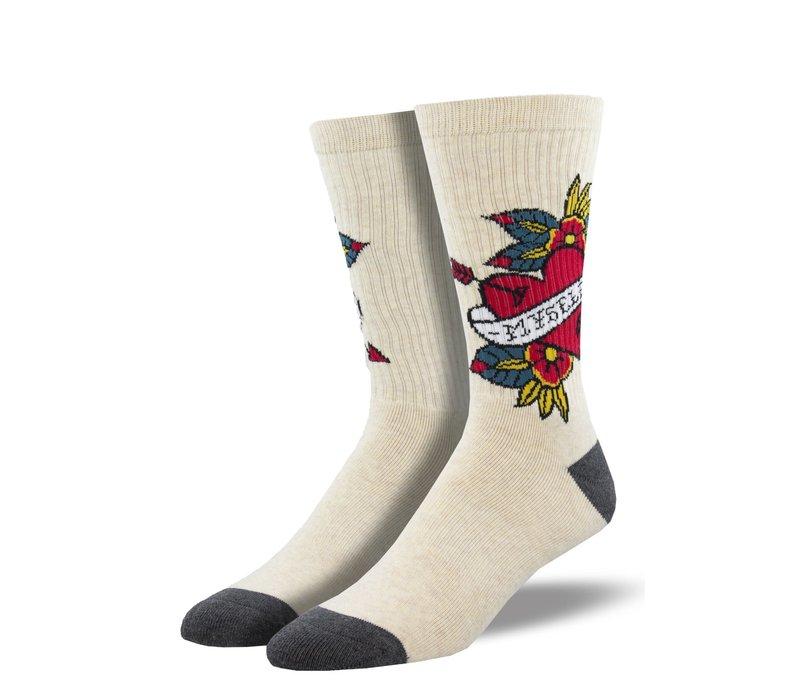 Socksmith - Love Myself  - NOBS S/M Socks