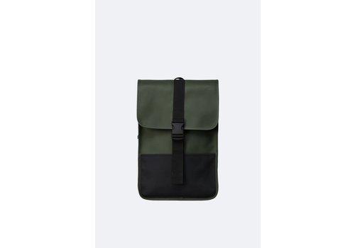 Rains Rains - Buckle Backpack Mini Green