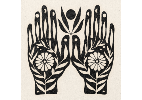 """Real Fun, Wow! Real Fun, Wow! - Growth In Your Hands Print - 11"""" x 11"""""""