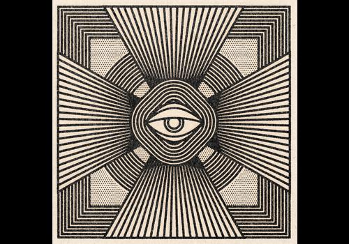 """Real Fun, Wow! Real Fun, Wow! - Radiant Eye Print  - 11"""" x 11"""""""