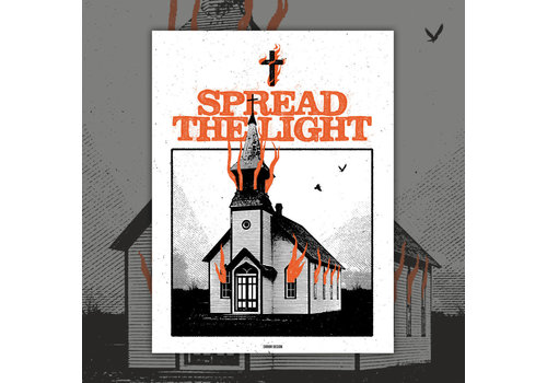 Error Design Error Design - Spread the Light - Print