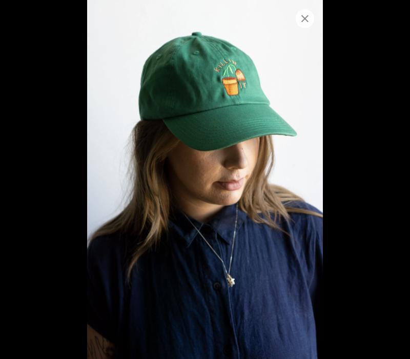 Stay Home Club - Killin It  Dad Hat - Green
