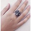 Xtellar Xtellar - Black Skull Ring