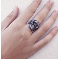 Xtellar - Black Skull Ring