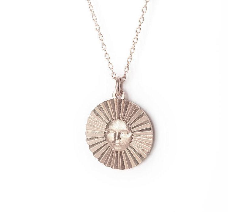 Xtellar - Sun Necklace - Silver