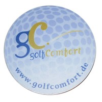 GolfComfort Logoträger
