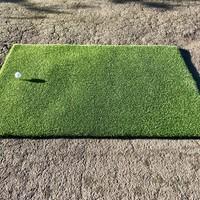 GolfComfort Abschlagmatte Tee-Grass