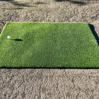 GolfComfort Golf mat Tee-Grass 100