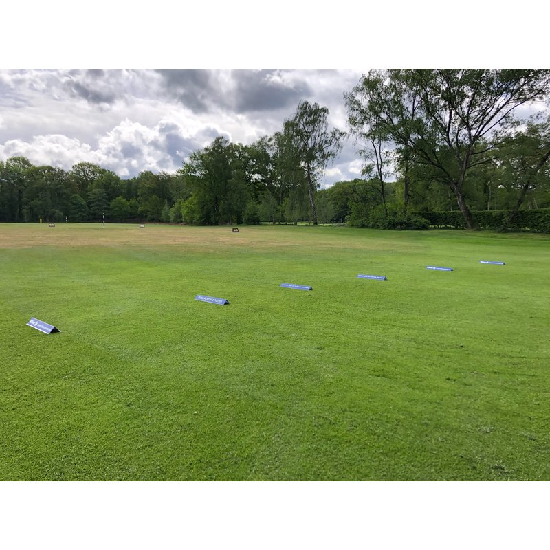 """GolfComfort Abschlagtrenner / Tee Divider  """"Custom"""""""