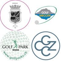 GolfComfort Aufkleber für Logoträger