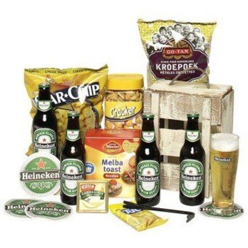 Biercadeau Bierbox Pils + Lekkernijen
