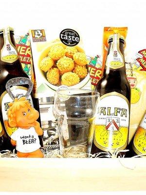 Biercadeau Dienblad Pils Luxe