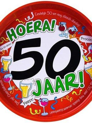 Bierpakket Dienblad Pilsje (Hoera 50 jaar)