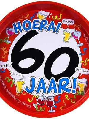 Bierpakket Dienblad Pilsje (Hoera 60 jaar)