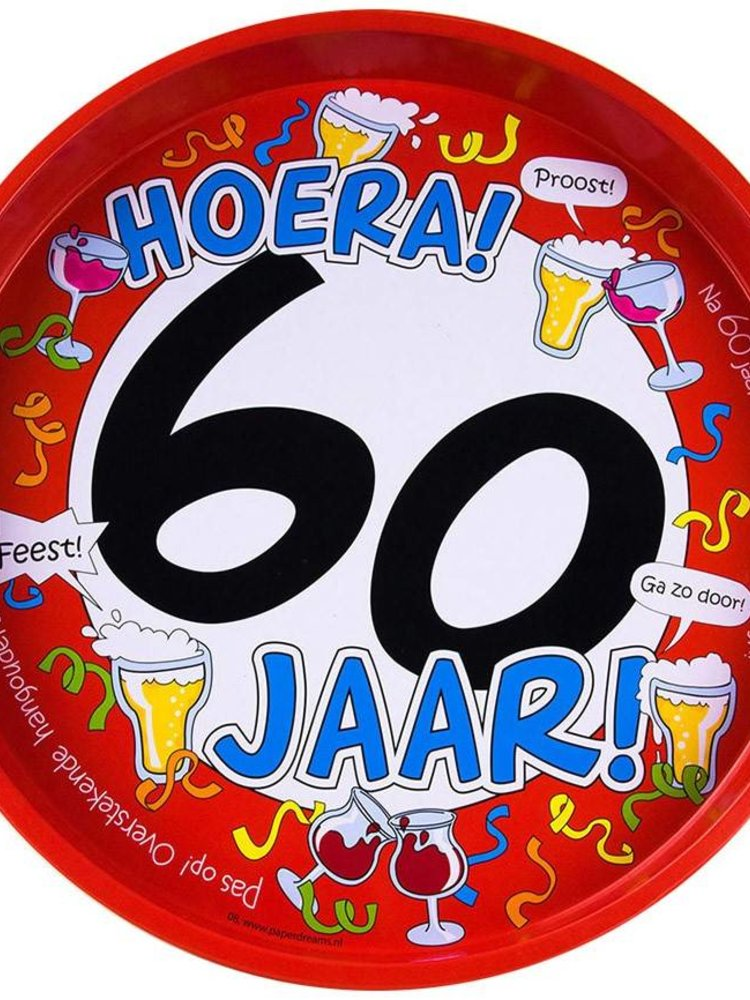 cadeau voor hem | bierpakket verjaardag man humor | hoera 60 jaar