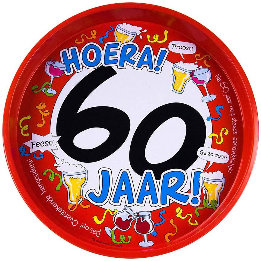 Cadeau Voor Hem Bierpakket Verjaardag Man Humor Hoera 60 Jaar