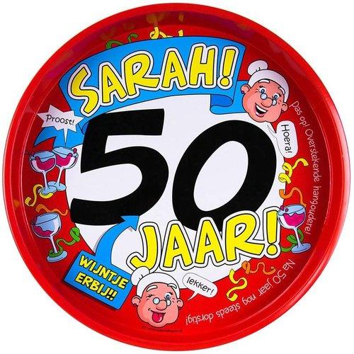 Bierpakket Dranken Dienblad (50 jaar - Sarah)
