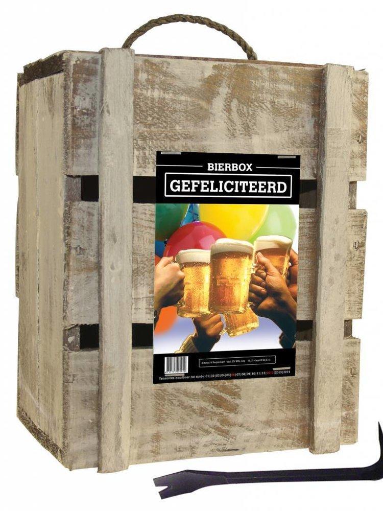 Bierkado Bierbox Gefeliciteerd Pils
