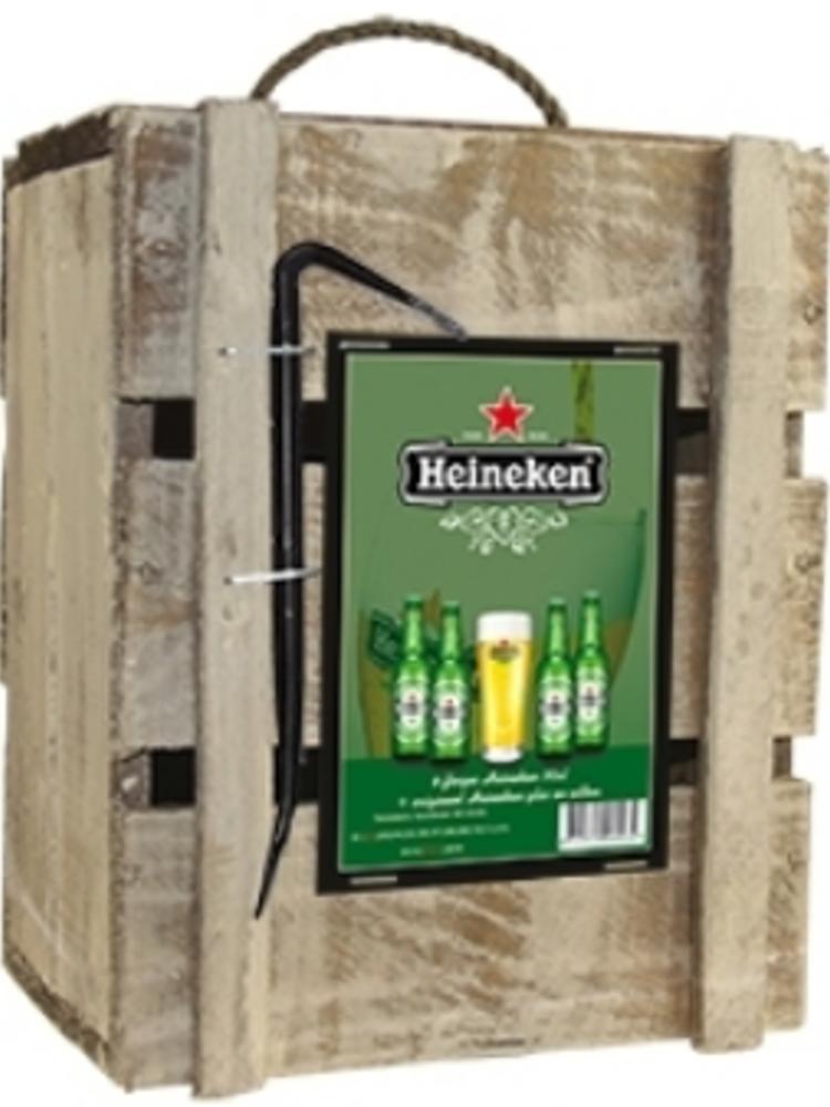 Biercadeau Heineken Bier + Glas