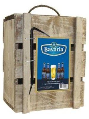 Biercadeau Bavaria Bier + Glas