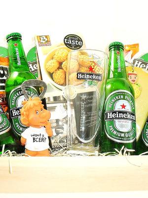 Biercadeau Heineken Dienblad  Luxe