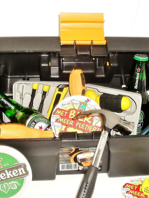 Bierpakket Heineken Klusbox