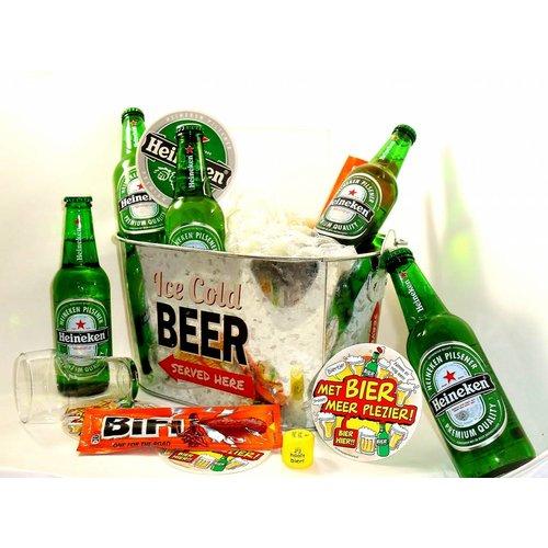 Bierpakket Heineken  Bierkoeler
