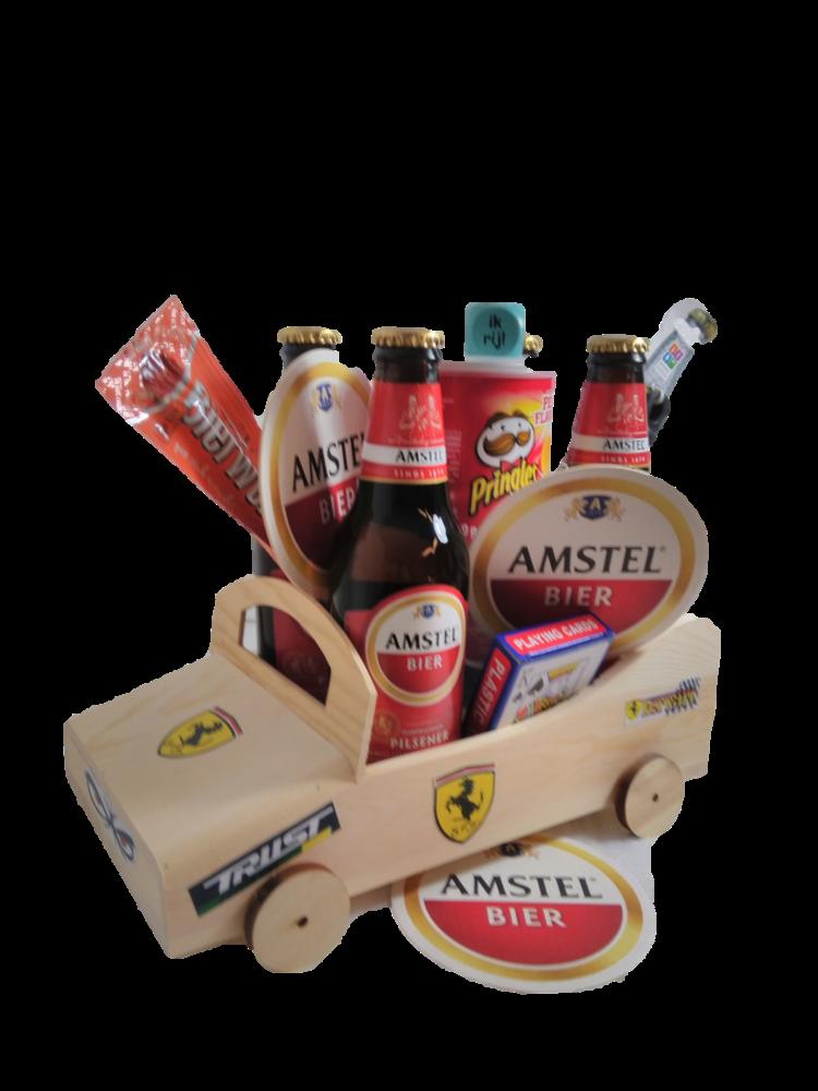 Bierpakket Amstel Raceauto