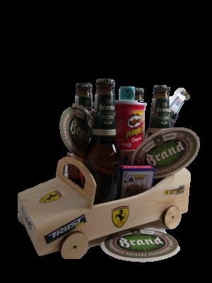 Bierpakket Brand Raceauto