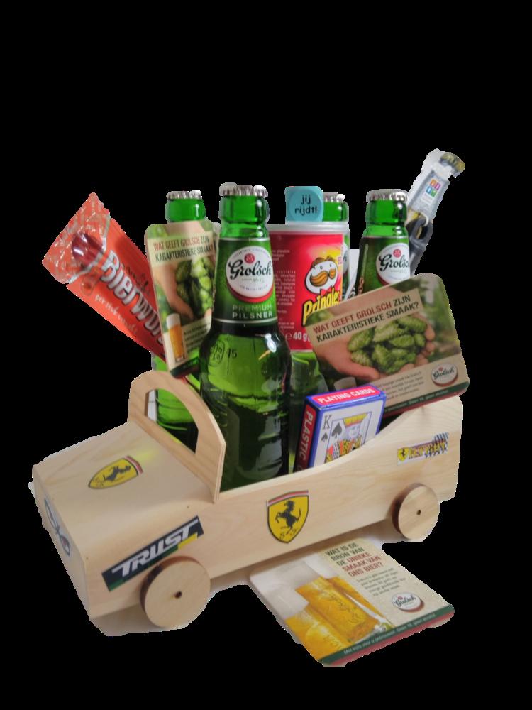 Bierpakket Grolsch Raceauto