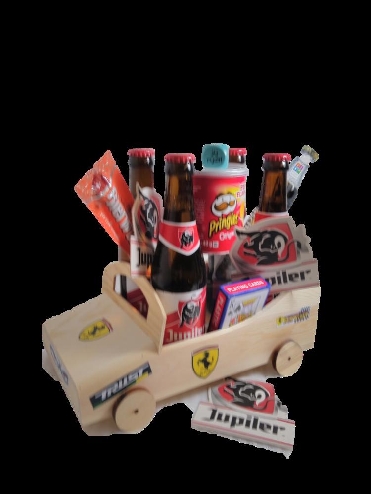 Bierpakket Jupiler Raceauto