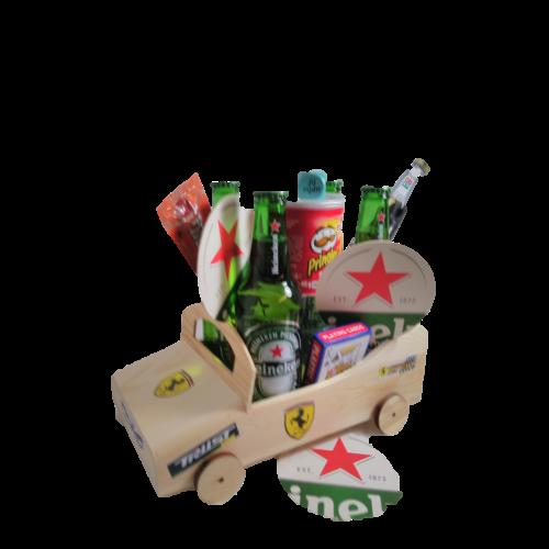 Bierpakket Heineken Raceauto