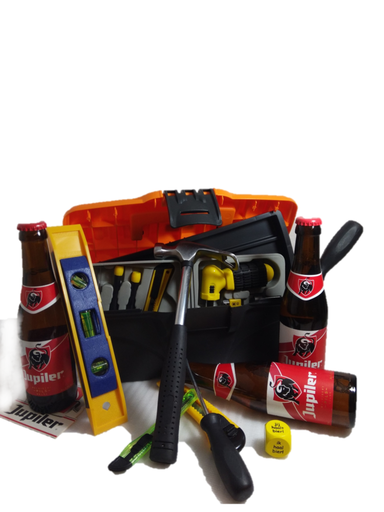 Bierpakket Jupiler Klusbox