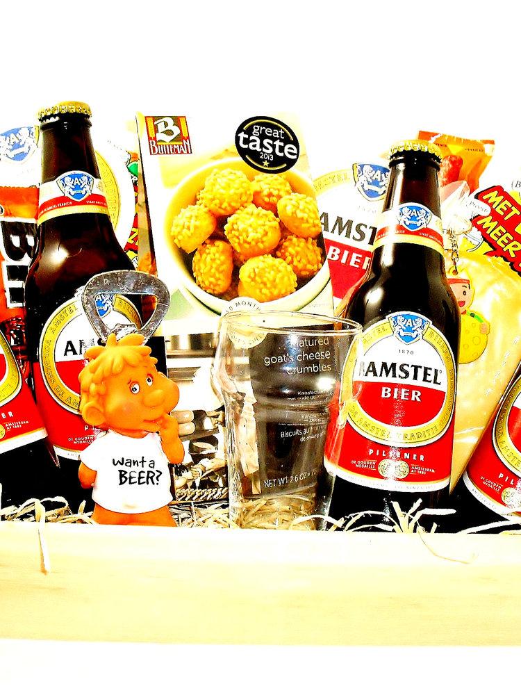 Biercadeau Amstel  Dienblad Luxe