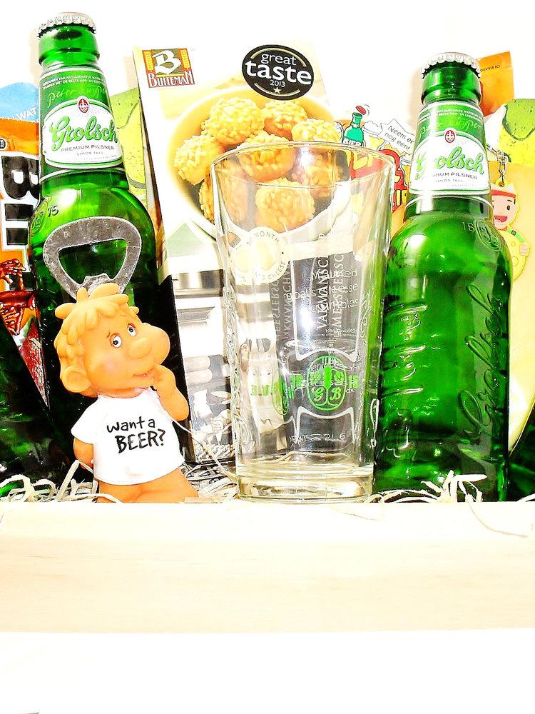 Biercadeau Grolsch Dienblad Luxe
